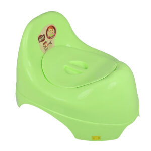 Baby Potty Trainer Chair With Lid - Green-0