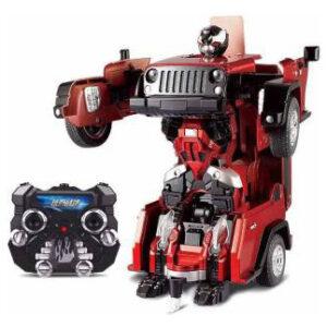 2-In-1 Deformation Autobots Radio Control 2.4Ghz MA-999-2 Red-0