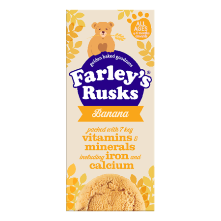 Heinz Farley's All Age Rusks Banana - 150gm ( Best before Dec, 2020)-0