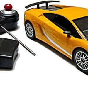 Top Grade 1:18 scale Remote Control Car-27Mhz - Yellow-0