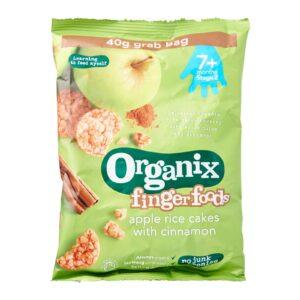Organix Finger Foods Apple Rice Cakes with Cinnamon - 40 gm-0