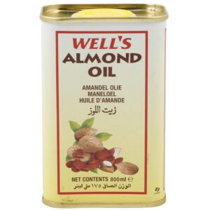Well's Almond Oil (Made in Spain) - 800ml-0