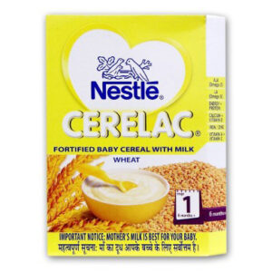 Nestle Cerelac, Fortified Baby Cereal With Milk Wheat Stage-1-0