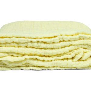 Baby Receiving Muslin Cotton Sheet - Cream-0