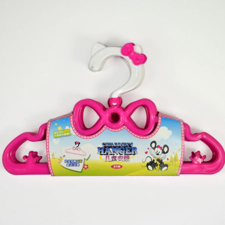 Baby Hanger Set Pack Of 5 - Pink-0