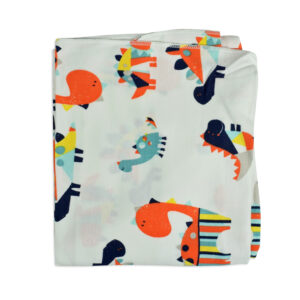 Baby Soft Wrapping Sheet for Swaddling (S) - Animal Print-0
