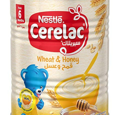 Nestle Cerelac Infant Cereal Wheat & Honey (6M+) - 400g -0