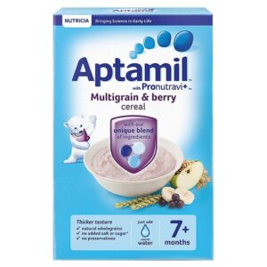 Aptamil Multigrain & Berry Cereal (7 Month+) - 200g-0