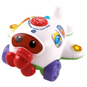 VTech Baby Play and Learn Aeroplane - White-0