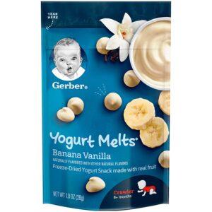Gerber Graduates Yogurt Melts, Banana Vanilla - 28 gm-0