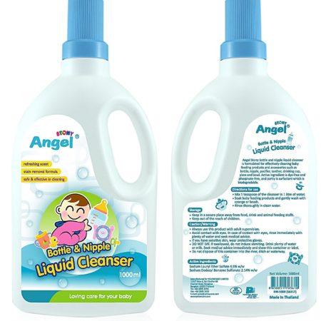 Stony Angel Bottle & Nipple Liquid Cleanser - 1000 ml-0