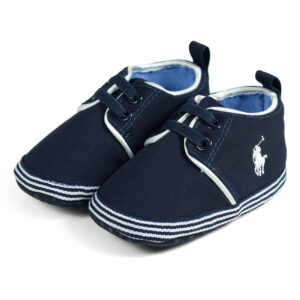 Babys Soft Shoes/Booties - Blue-0