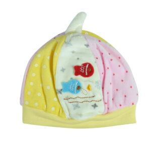 Carters Baby Winter Cap - Yellow-0