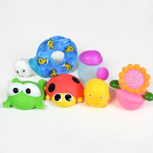 Choo Choo Bath Toys (Multicolor) - Pack of 7-0