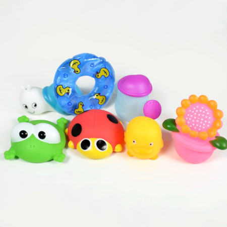 Choo Choo Bath Toys (Multicolor) - Pack of 7-0