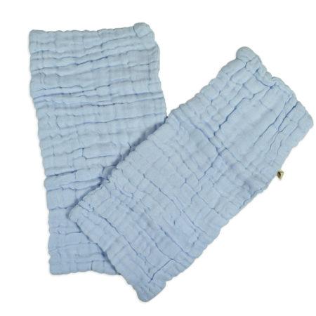 Baby Diaper Liner Pack of 2 - Sky Blue-0