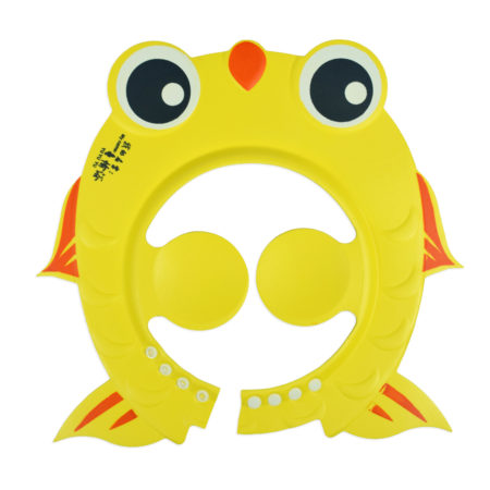 Baby Adjustable Shower Cap - Yellow-0