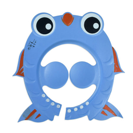 Baby Adjustable Shower Cap - Blue-0