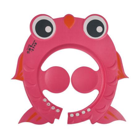 Baby Adjustable Shower Cap - Pink-0