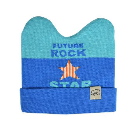Baby Woolen Cap For Winter - Sky Blue-0