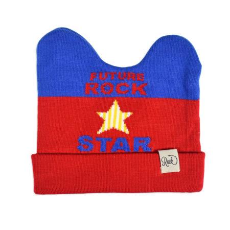 Baby Woolen Cap For Winter - Red-0
