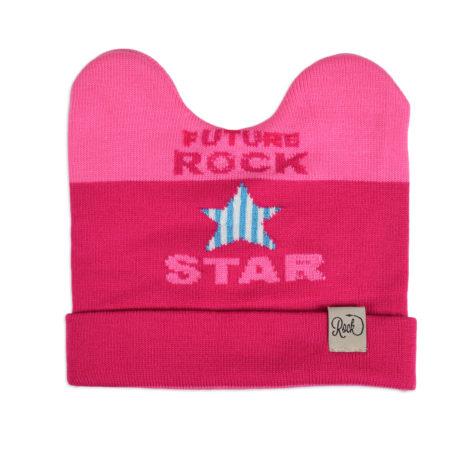 Baby Woolen Cap For Winter - Pink-0