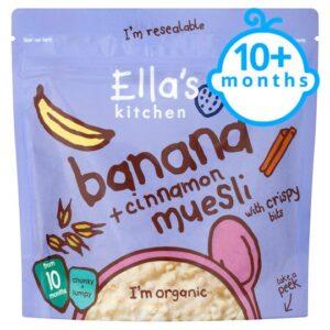 Ella's Kitchen Banana And Cinnamon Muesli - 215gm-0