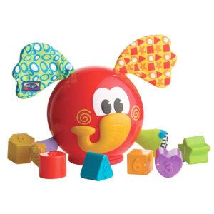 Playgro Elephant Shape Sorter - Multicolor-0