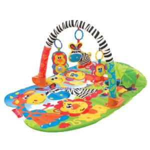 Playgro 5 in 1 Safari Gym - Multicolor-0