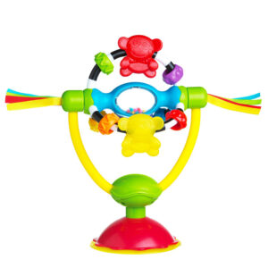 Playgro High Chair Spinning Toy - Multicolor-0
