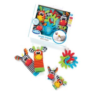 Playgro Jungle Friends Gift Pack - Multicolor-0