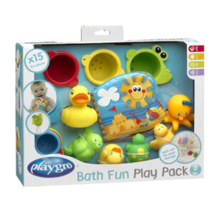 Playgro Bath Fun Play Pack - Multicolor-0