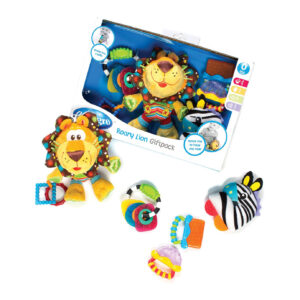 Playgro Roary Lion Gift Pack - Multicolor-0
