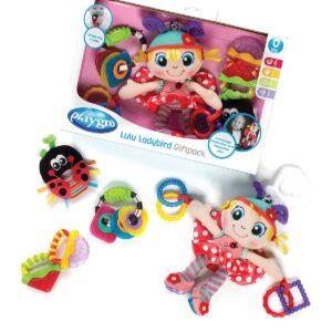 Playgro Lulu Ladybird Gift Pack - Multicolor-0