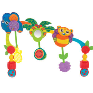 Playgro Tropical Tunes Travel Play Arch - Multicolor-0