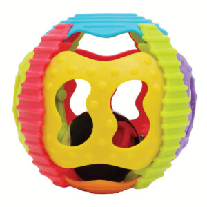 Playgro Shake Rattle & Roll Ball - Multicolor-0