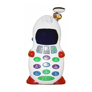 Aptitude & Learner Phone Abc And 123 Learner Mobile Toy, Led Display For Kids-0