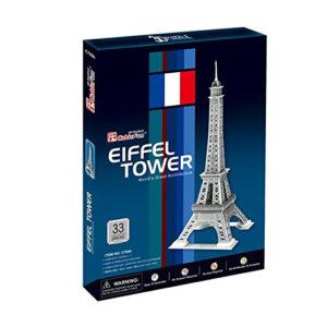 Cubicfun Frank Cubic Fun Eiffel Tower 3D Puzzle (C705H)-0