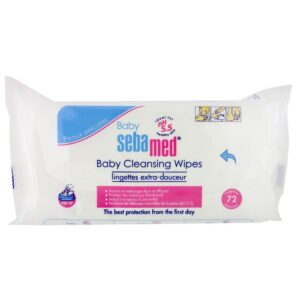 Sebamed Extra Soft Baby Cleansing Wipes - 72 Pieces-0