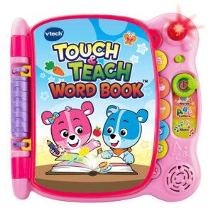 VTech Touch & Teach Word Book - Pink-0