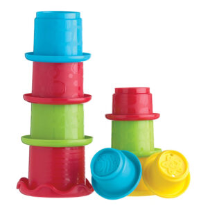 Playgro Stacking Fun Cups Cdu - Multicolor-0