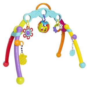 Playgro Junyju Fold and Go Play Gym (Multicolor)-0