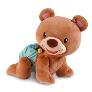 VTech Baby Crawl Along Bear - Brown-0