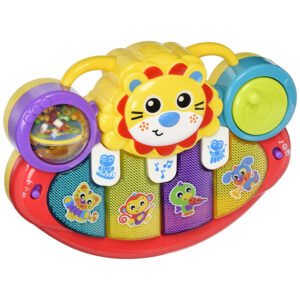 Playgro Lion Activity Kick Toy for Baby - Multicolor-0