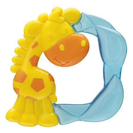 Playgro Jerry Giraffe Water Teether - Yellow/Blue-0