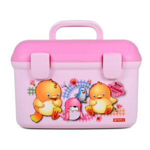 Lion Star Multi Purpose Storage Box - Pink-0