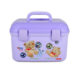 Lion Star Multi Purpose Storage Box - Purple-0