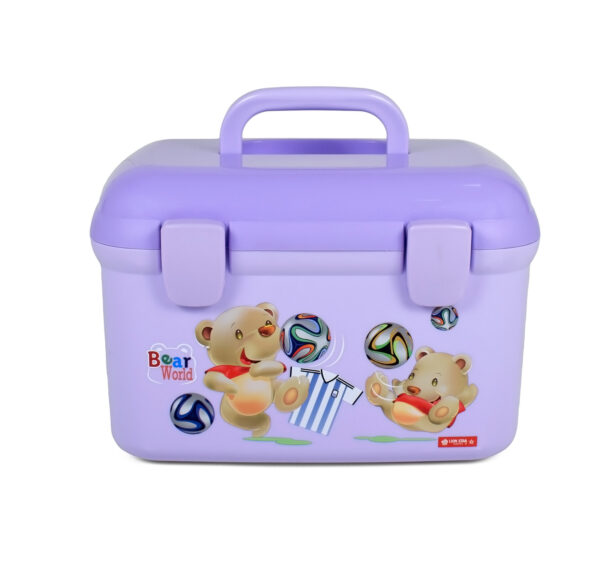 Lion Star Multi Purpose Storage Box - Purple-0