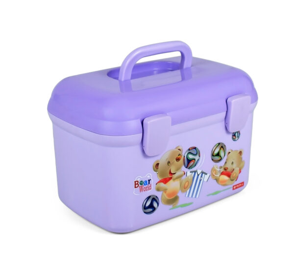 Lion Star Multi Purpose Storage Box - Purple-20915
