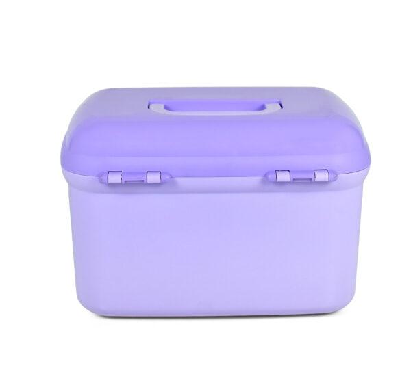 Lion Star Multi Purpose Storage Box - Purple-20912